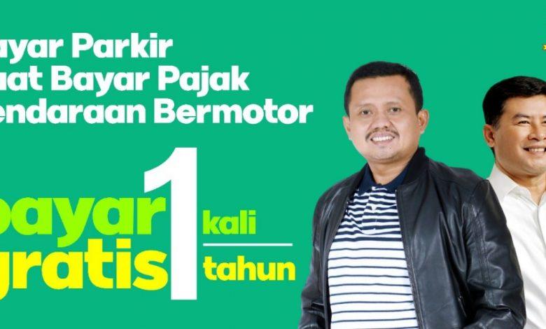Poster Kampanye Parkir Berlangganan di Sumedang (foto:sumedangkab.go.id)